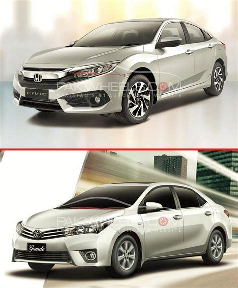 Toyota Corolla Altis Vs Honda City Civic I Vtec Oriel Vs Corolla Grande So They Meet Again