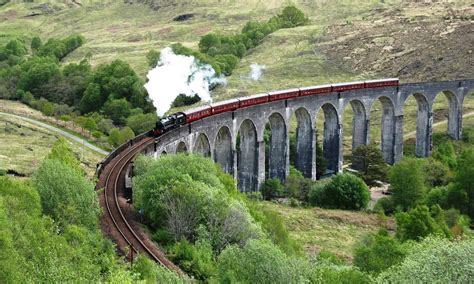 Train Wall Murals complete telling of the hogwarts express ride experience