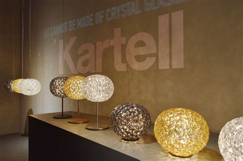kartell illuminazione catalogo nouvelle collection planet kartell