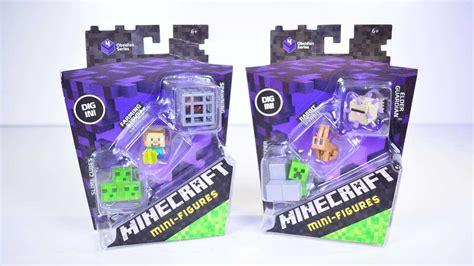 7 figures that minecraft mini figures obsidian series series 4