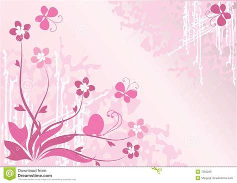Paginas Para Disenar Casas fundo da flor com borboletas imagens de stock royalty free