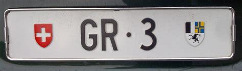 Auto Kennzeichnen by Liste Der Schweizerischen Kfz Kennzeichen