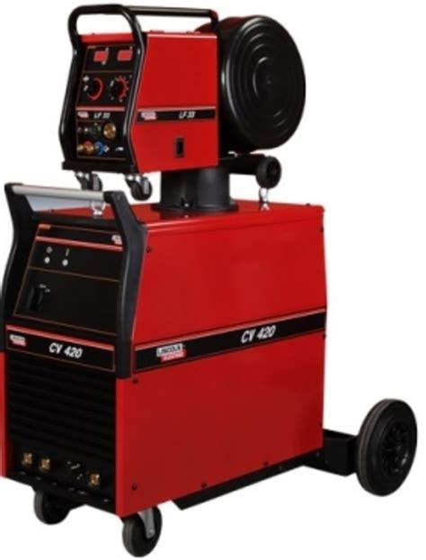 lincoln ideal arc cv425 mig welder