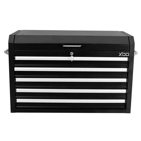 36 in 5 drawer tool chest black xtb73605a the home depot