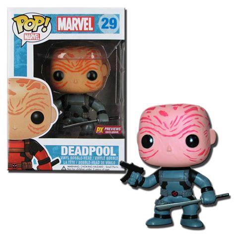 deadpool bob ross funko funko pop marvel bobble deadpool gray maskless