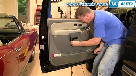 1999 suburban interior l module how to install replace door panel chevy gmc silverado