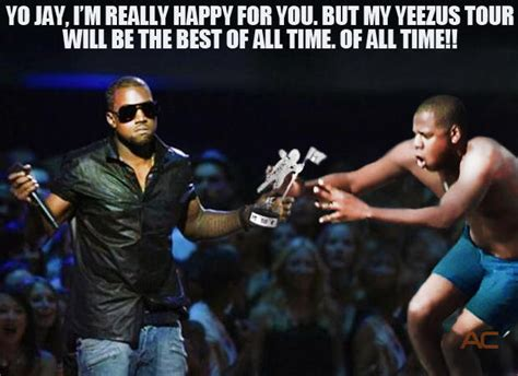 Kanye And Jay Z Meme - kanye vs jay z at the mtv vmas jay z diving know your