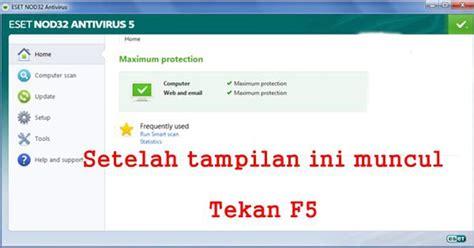 Paket Cctv Yusuf cara update offline eset nod32 versi 5