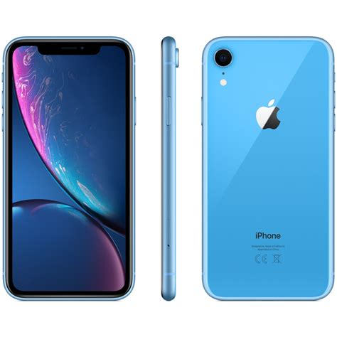 apple iphone xr 128gb dual nano sim a2108 black