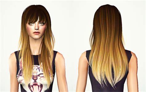 long hair with bangs sims2 sims 4 cc long hair with bangs