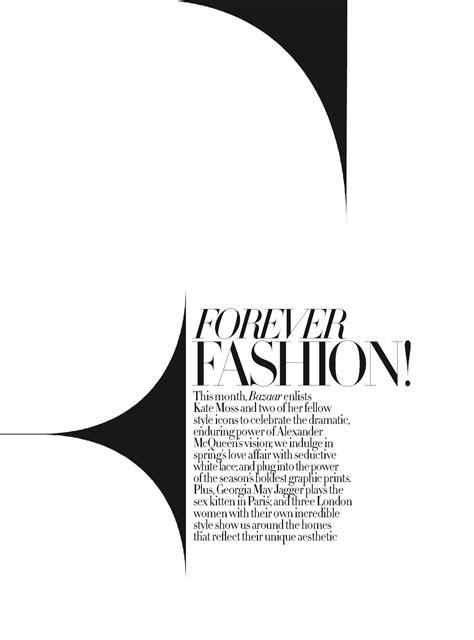 Fashion magazine typography   type eh?