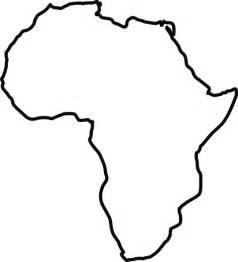 Africa Outline Map by Africa Outline Clip Art At Clker Com Vector Clip Art