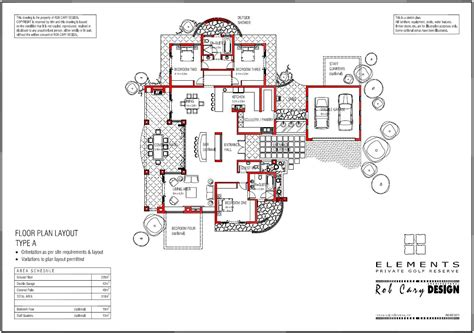 floor plan elements accommodation at elements property in the waterberg