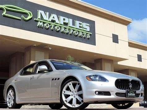 how petrol cars work 2011 maserati quattroporte navigation system buy used 2011 maserati quattroporte s automatic 20 quot wheels navigation ventilated seats in