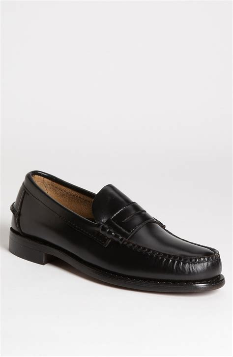 sebago loafers sebago classic loafer in black for lyst