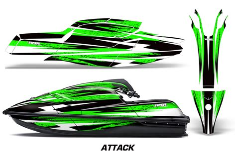 Kawasaki Jet Ski Sticker Kit by Kawasaki Sx R Js1500 Jet Ski Graphic Wrap Decal Kit