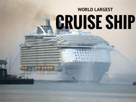 world s largest cruise ship ppt world s largest cruise ship powerpoint presentation
