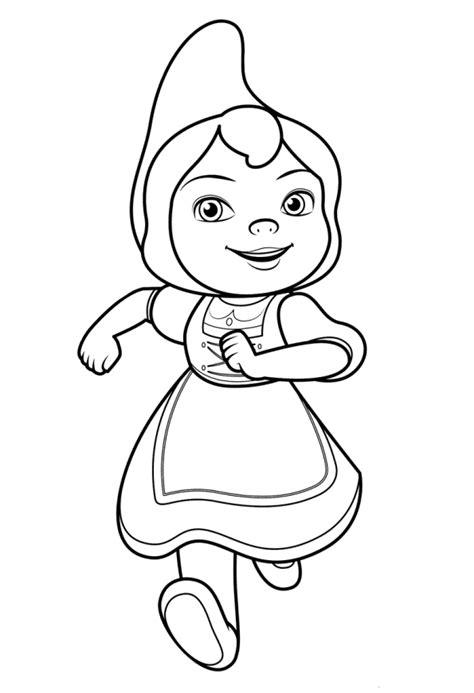 gnome coloring pages n de 8 ausmalbilder sherlock gnome