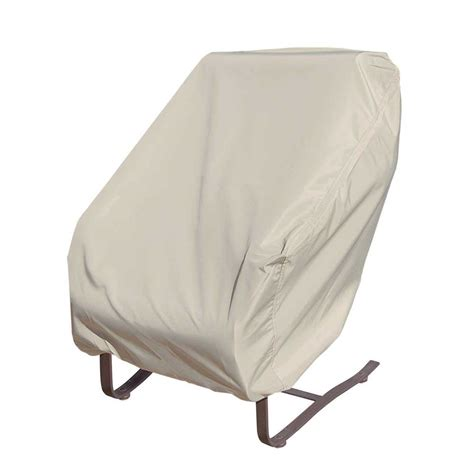 rocking chair covers outdoor treasure garden wicker seating rocking chair cover