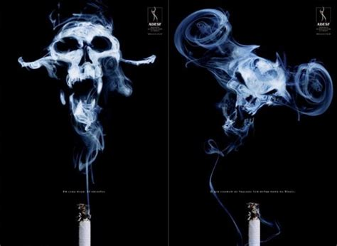 scary anti smoking ads the best anti smoking print ads