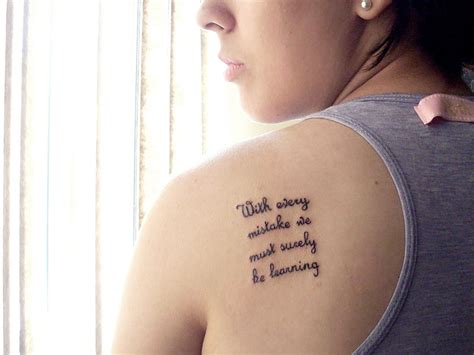small tattoo quote quote tattoos designs ideas and meaning tattoos for you