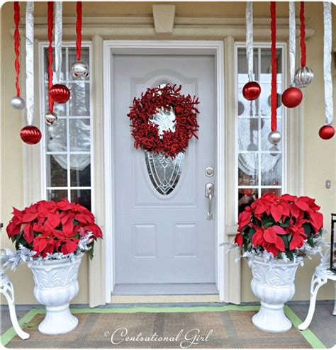 christmas front door decor top 10 inspirational christmas front porch decorations top inspired