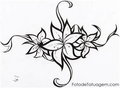 desenhos para tatuagem de flores foto de tatuagem
