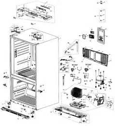 refrigerator parts samsung refrigerator parts diagrams