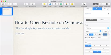 apple keynote for windows how to open keynote key file on windows pc powerpoint