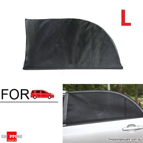 what size l shade 2x car window sun shade mesh cover uv protector l size online shopping shopping square com