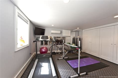 modern contemporary basement design build remodel modern modern basement home gym area design with tv room home