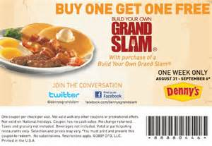 Printable Jcpenney Coupons Denny S Restaurant Breakfast Printable Coupons Online