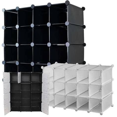 interlocking shoe storage thebigship 174 interlocking wardrobe shoe organizer toys