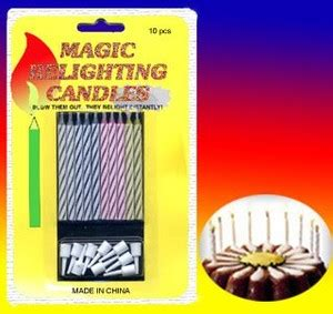 Magic Relighting Candle Lilin Ulang Tahun Limited jual distributor lilin ulang tahun lilin magic ajaib lilin