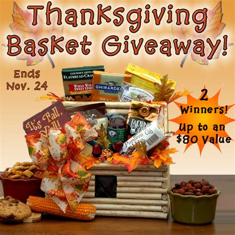Thanksgiving Giveaway Ideas - thanksgiving gift basket giveaway sponsored thanksgiving food and recipes