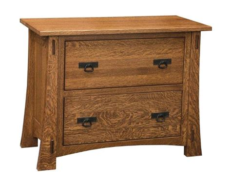 mission style lateral file cabinet amish modesto mission lateral file cabinet