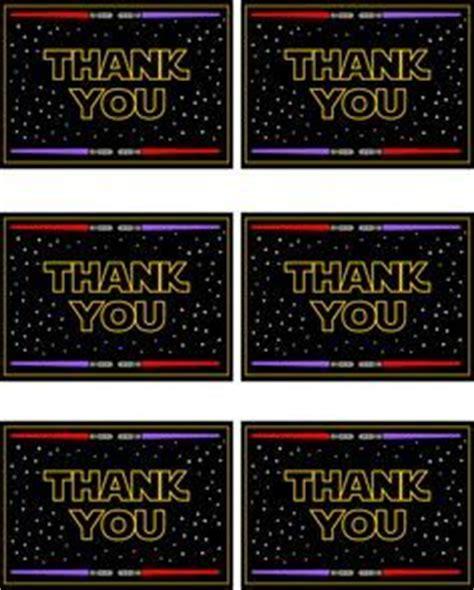 Thank You Card Mini Tema Lego free wars printables a no stress way to a