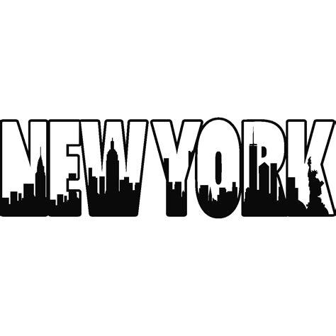 Les Porte De Maison 3310 by Stickers Muraux Pays Et Villes Sticker New York Lettre