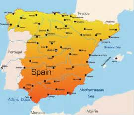 Map If Spain by Maps Of Spain Spyglassguide