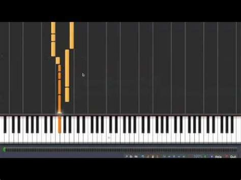 tutorial piano nirvana nirvana come as you are piano tutorial synthesia youtube