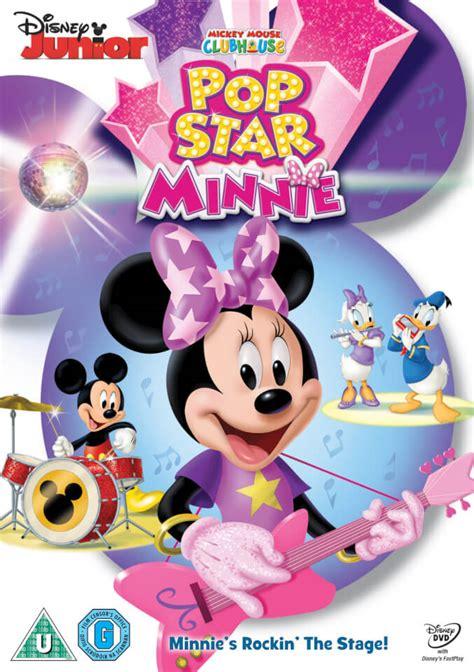 Kaos Mickey Minnie Pop mickey mouse clubhouse pop minnie dvd zavvi