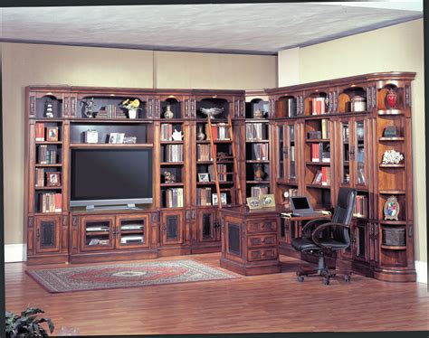 wall library parker house davinci library wall system 48in ph dav411