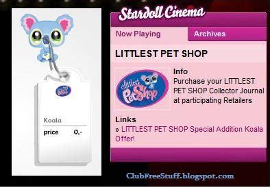 Maryam No Pet stardoll tutorials by maryam jan free littlest pet shop koala