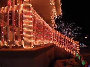Christmas light ideas with wood fence awesome christmas light ideas