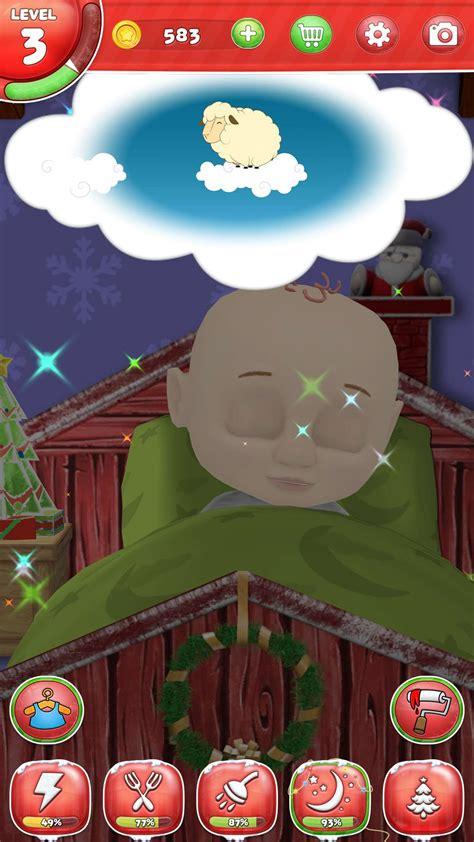 santa claus  virtual friend game  android iphone  ipad