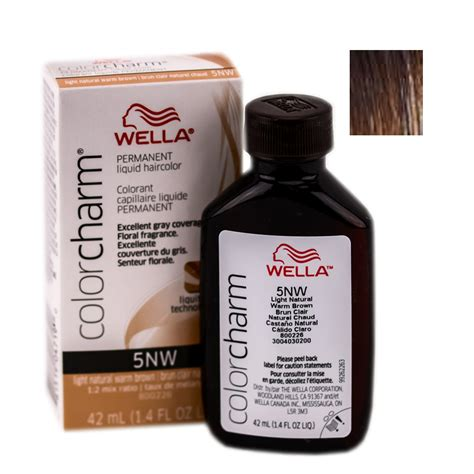 wella color charm wella color charm liquid permanent hair color wella color