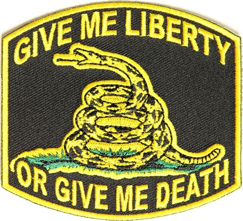 Patchwork Patches - give me liberty or give me patch
