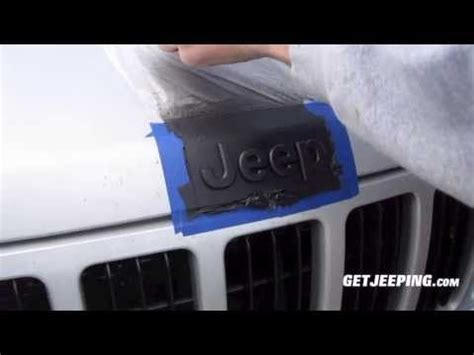 plasti dip jeep emblem how to plasti dip emblems getjeeping jeep