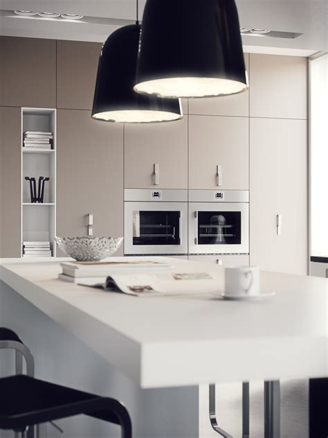 White Kitchen Pendant Lights Kitchen Layouts And Lovely Lighting