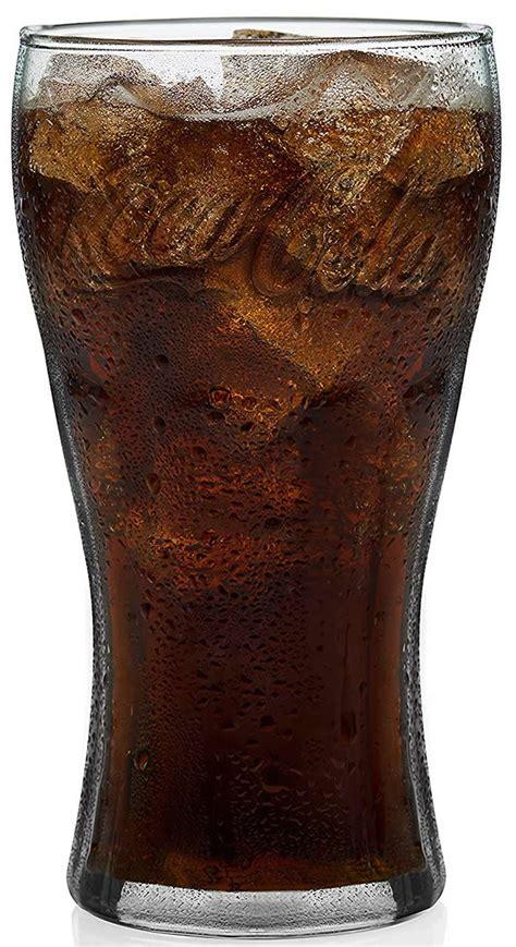 georgian green coca cola glass oz